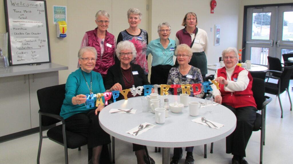 Birthday Party Volunteers