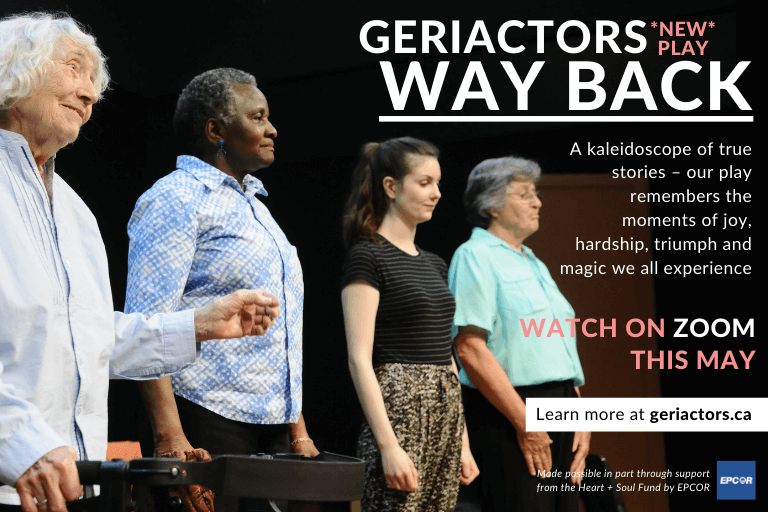 The GeriActors & Friends present... Way Back
